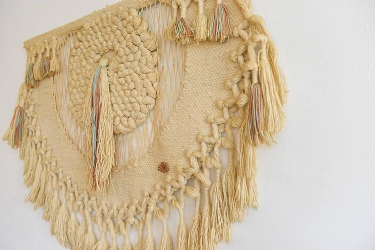 Large Fiber Art Wall Hanging by Don Freedman at 1stdibs