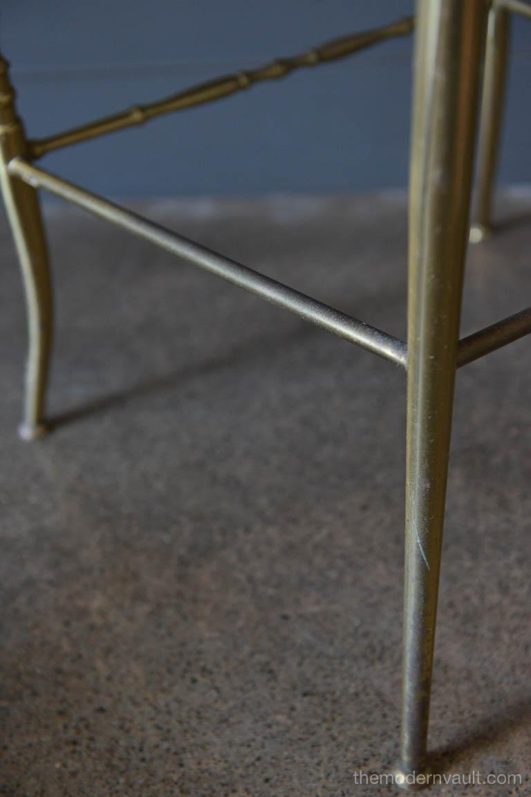 Italian Brass Chiavari Chair, circa 1950 For Sale 3
