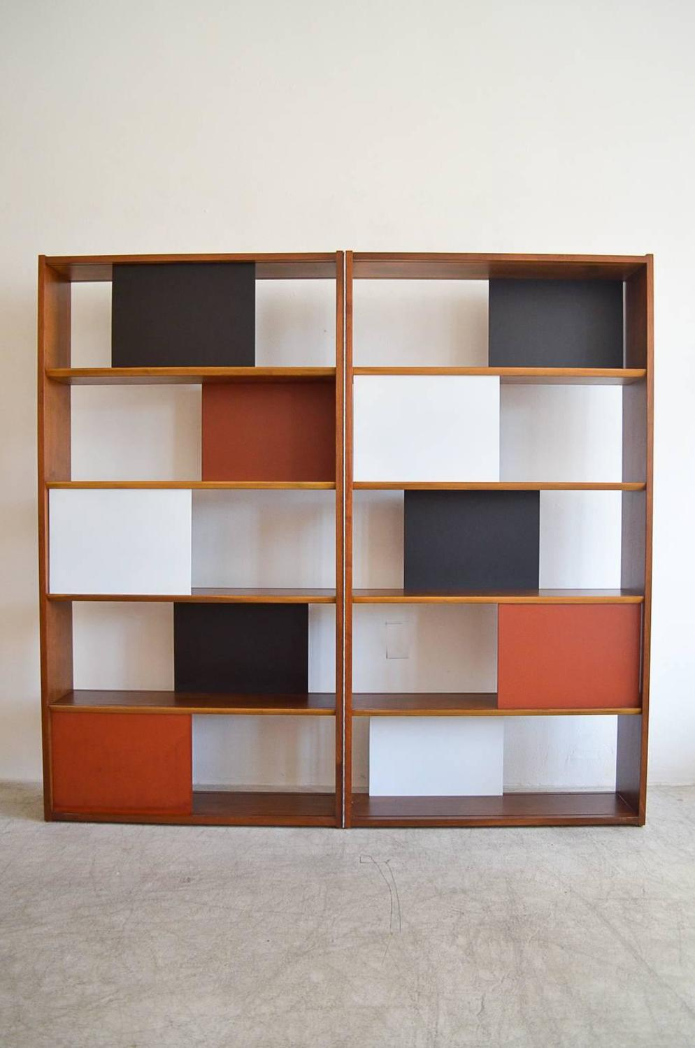 Https Www 1stdibs Com Furniture Storage Case Pieces Bookcases Room Divider Hinged Bookcase Evans Clark Glenn California Id F 3842002