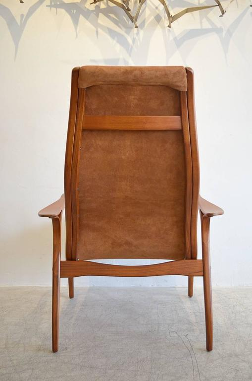 Suede Lamino Chair By Yngve Ekstrom 3