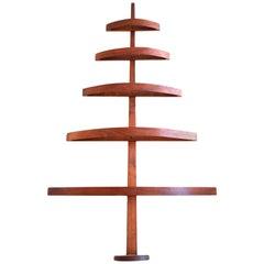 Danish Teak Bentwood Christmas Tree