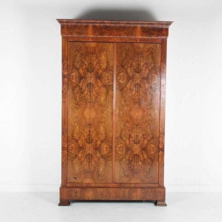French Antique Armoire C. 1890 For Sale at 1stdibs