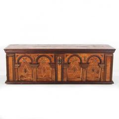 French Antique Blanket Box