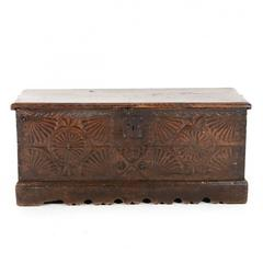 French Antique Chest or Coffer C.1800