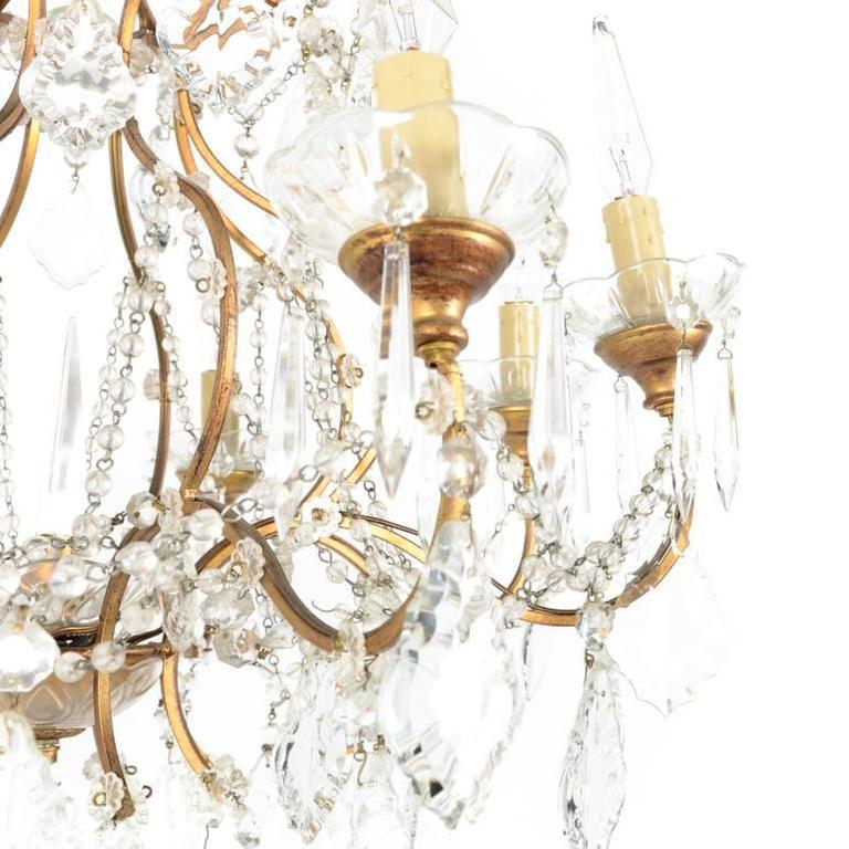 French crystal birdcage chandelier for sale at 1stdibs french crystal birdcage chandelier for sale 2 aloadofball