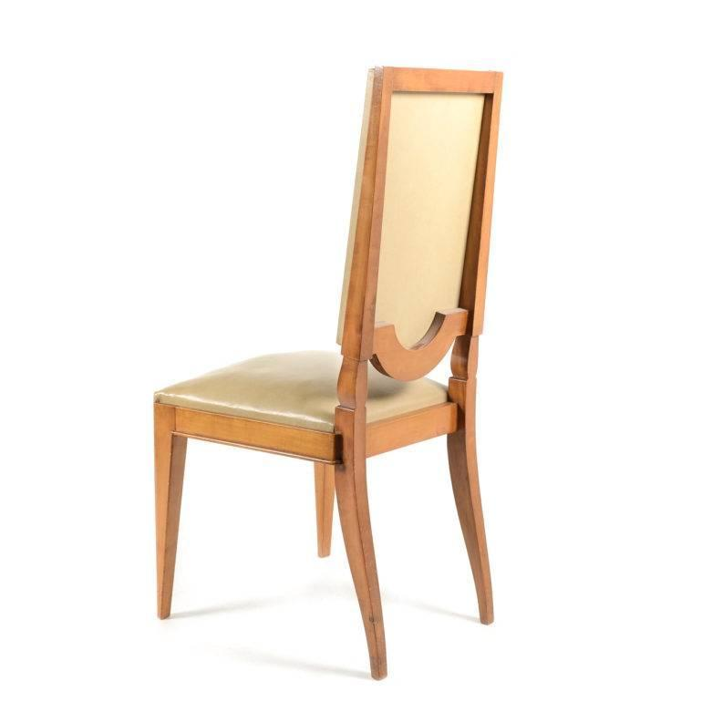 French Mid Century Modern Dining Chairs Circa 1960 For Sale At 1stdibs
