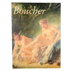 Vintage Francois Boucher Poster, 1987
