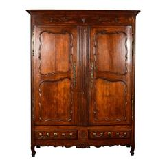 Antique French Armoire, circa 1860