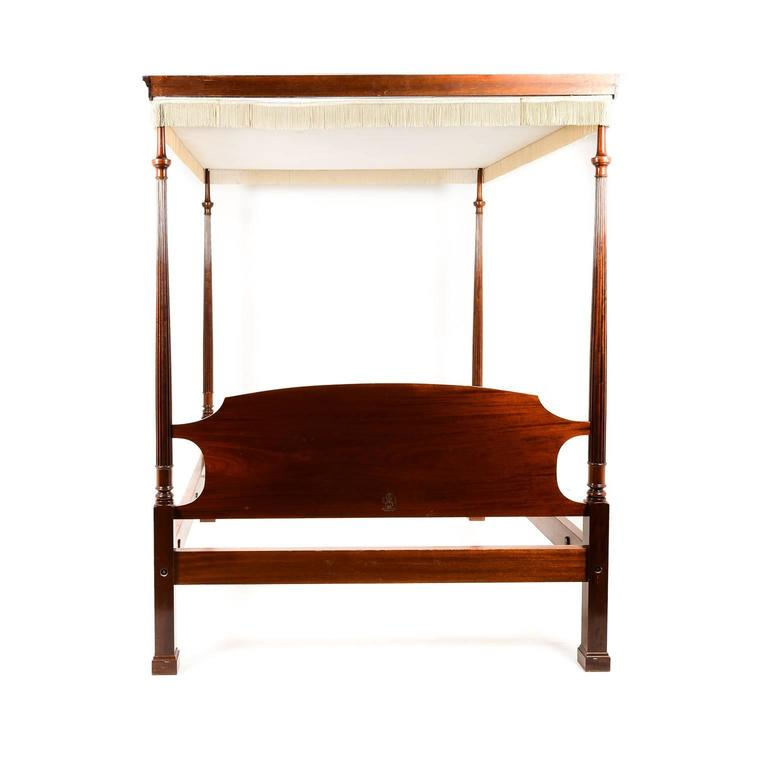 Solid Mahogany Canopy Bed By Reid Classics Circa At