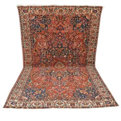 Large Bakhtiar Wool Carpet