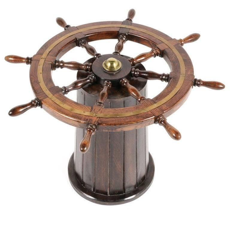 Ship's Wheel Table