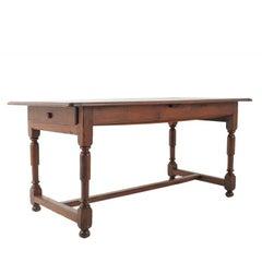 French Solid Oak Farm Table