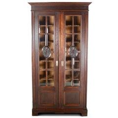 Belgian Oak Bookcase