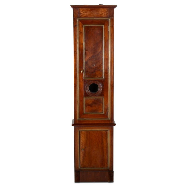 19th Century French 'Clock Case' Cabinet For Sale