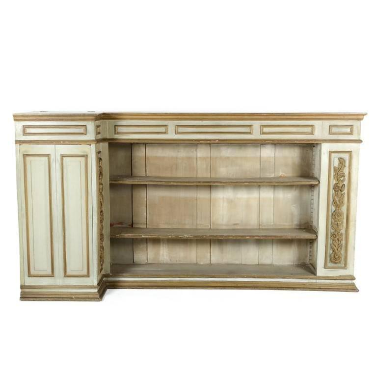French 19th Century Painted Bookcase Circa 1890