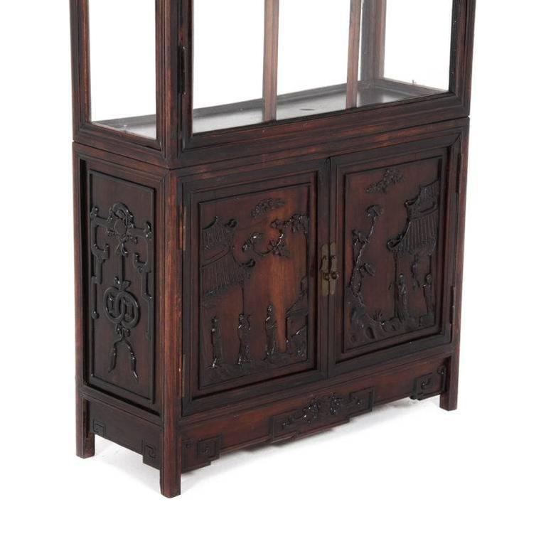 Antique chinese display cabinet circa 1900 for sale at 1stdibs for 1900 asian cuisine