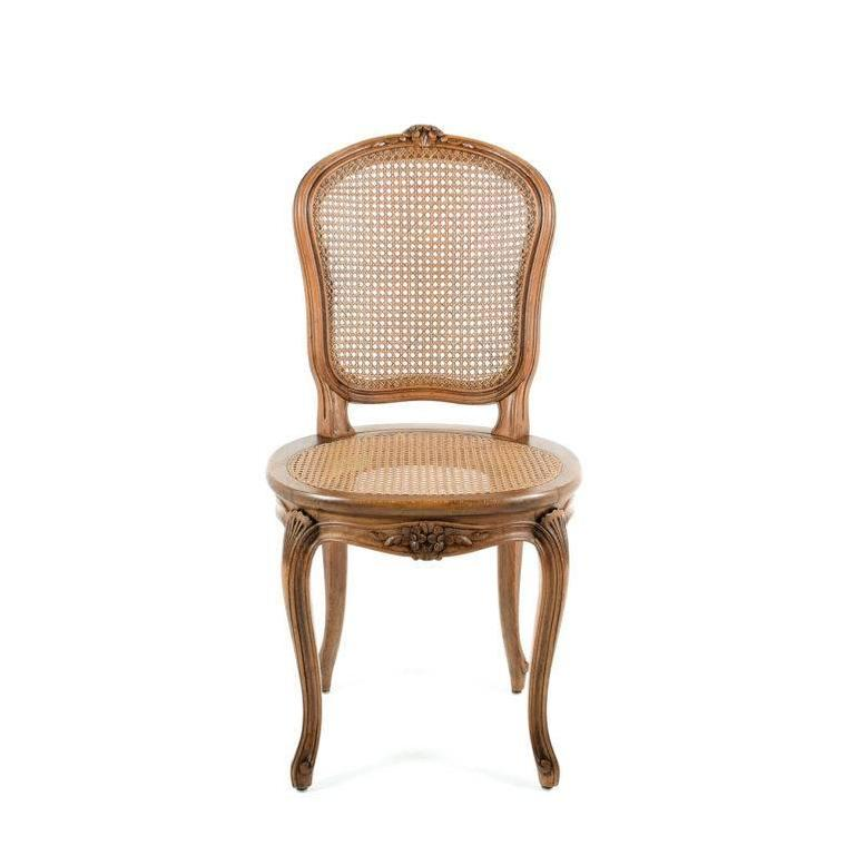 Set Of Six French Early 20th Century Chairs At 1stdibs