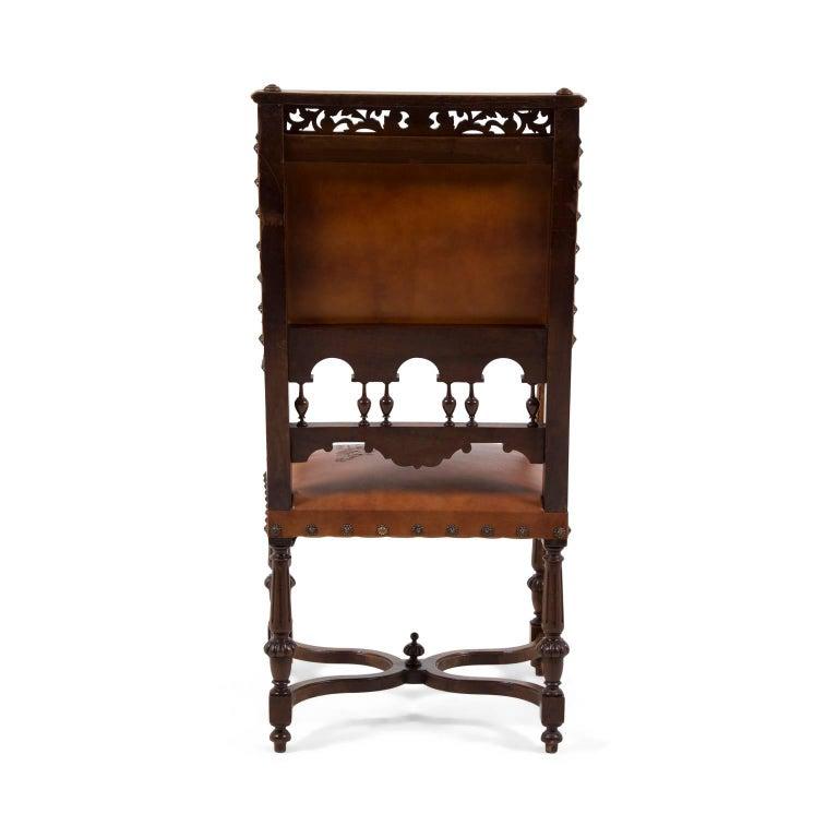 Antique 19th Century Renaissance Revival Armchair For Sale At 1stdibs