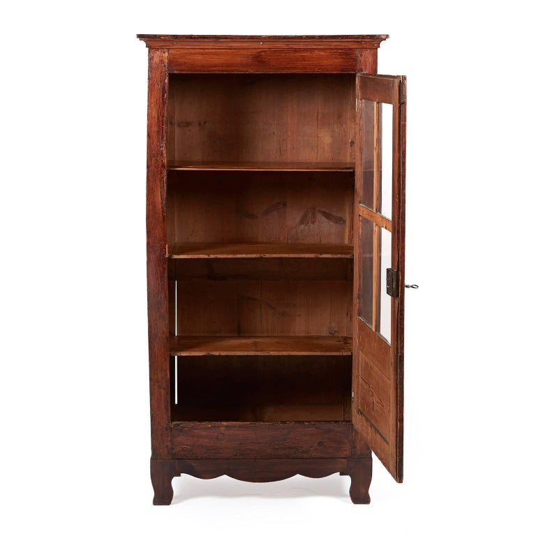 Small antique country french cabinet circa 1880 for sale for 1880 kitchen cabinets