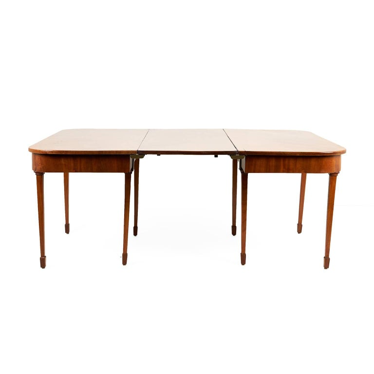 Georgian Mahogany Dining Table For Sale At Stdibs - 28 wide dining table