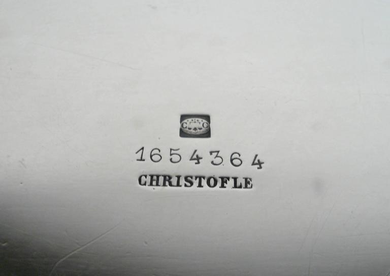 Napoleon III Impressive Signed Christofle Sliver Centerpiece For Sale