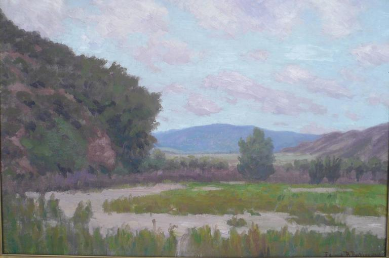 California Landscape by American Impressionist Painter Edward B. Butler For Sale 2