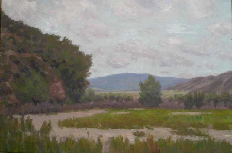 California Landscape by American Impressionist Painter Edward B. Butler For Sale 3