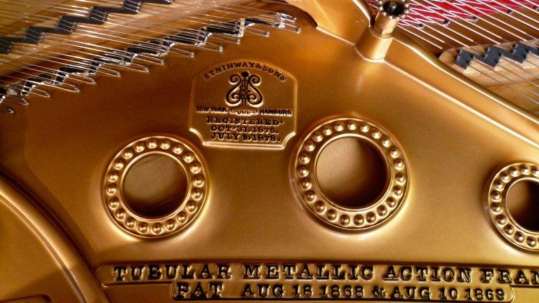 Steinway and Sons Ebony Grand Piano, Model