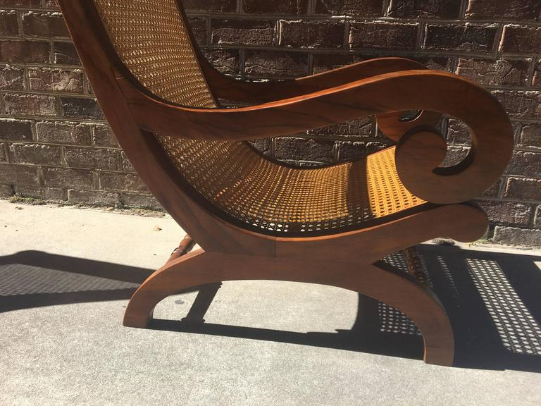 20th Century French Tamarind Wood Planters Chairs For Sale