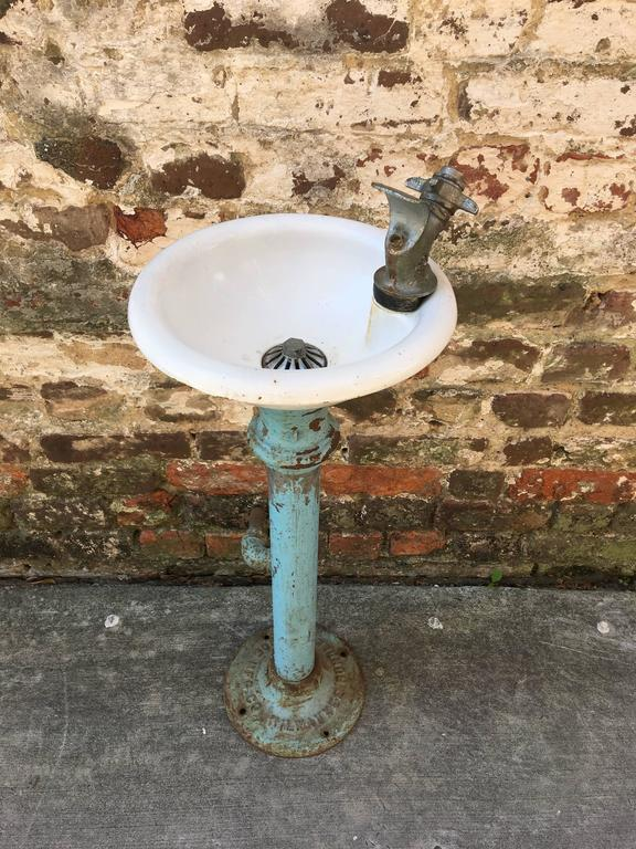Vintage Water Fountain Milwaukee Rundle Spence Mnfg Co At