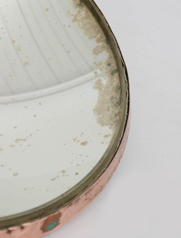 Small Parabolic Concave Mirror At 1stdibs