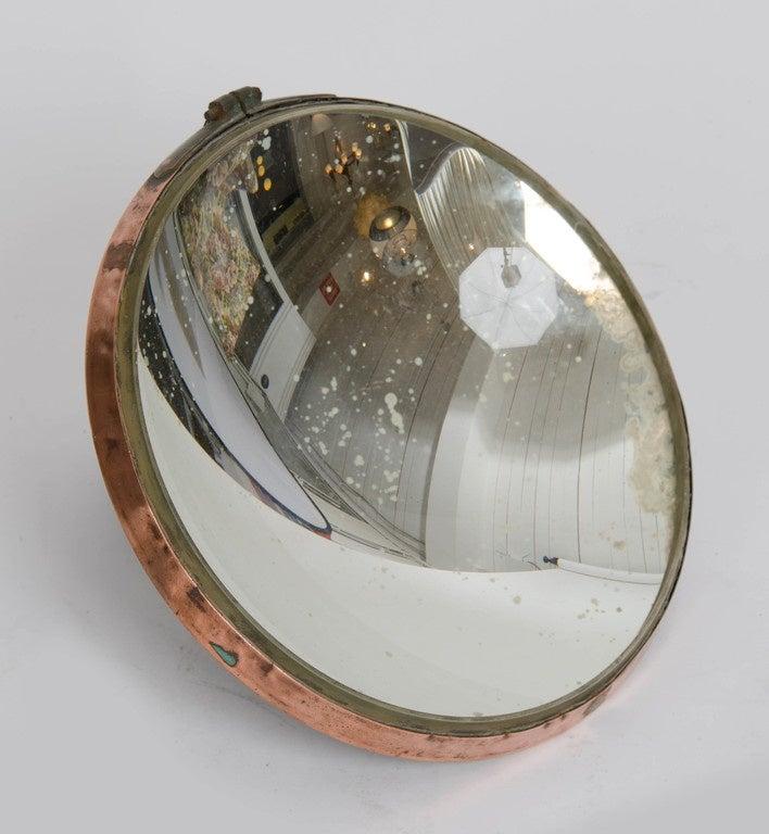 Small Parabolic Concave Mirror At 1stdibs