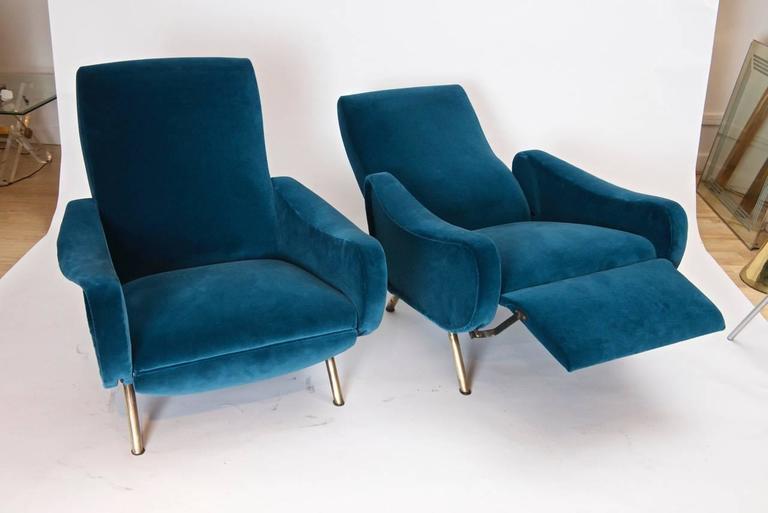Mid-Century Modern Marco Zanuso Reclining Chairs For Sale & Marco Zanuso Reclining Chairs at 1stdibs