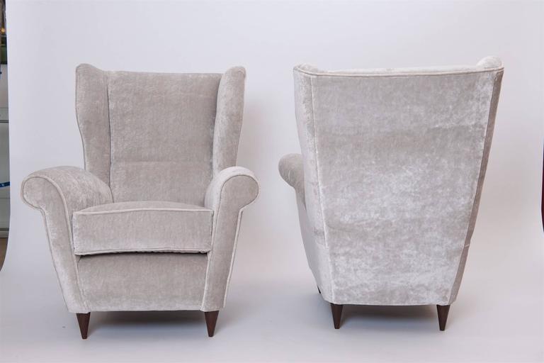 Pair of Italian Armchairs, circa 1950 3
