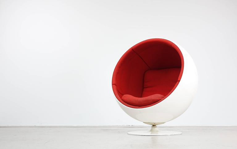ball chair by asko eero aarnio 1963 rare first edition at 1stdibs