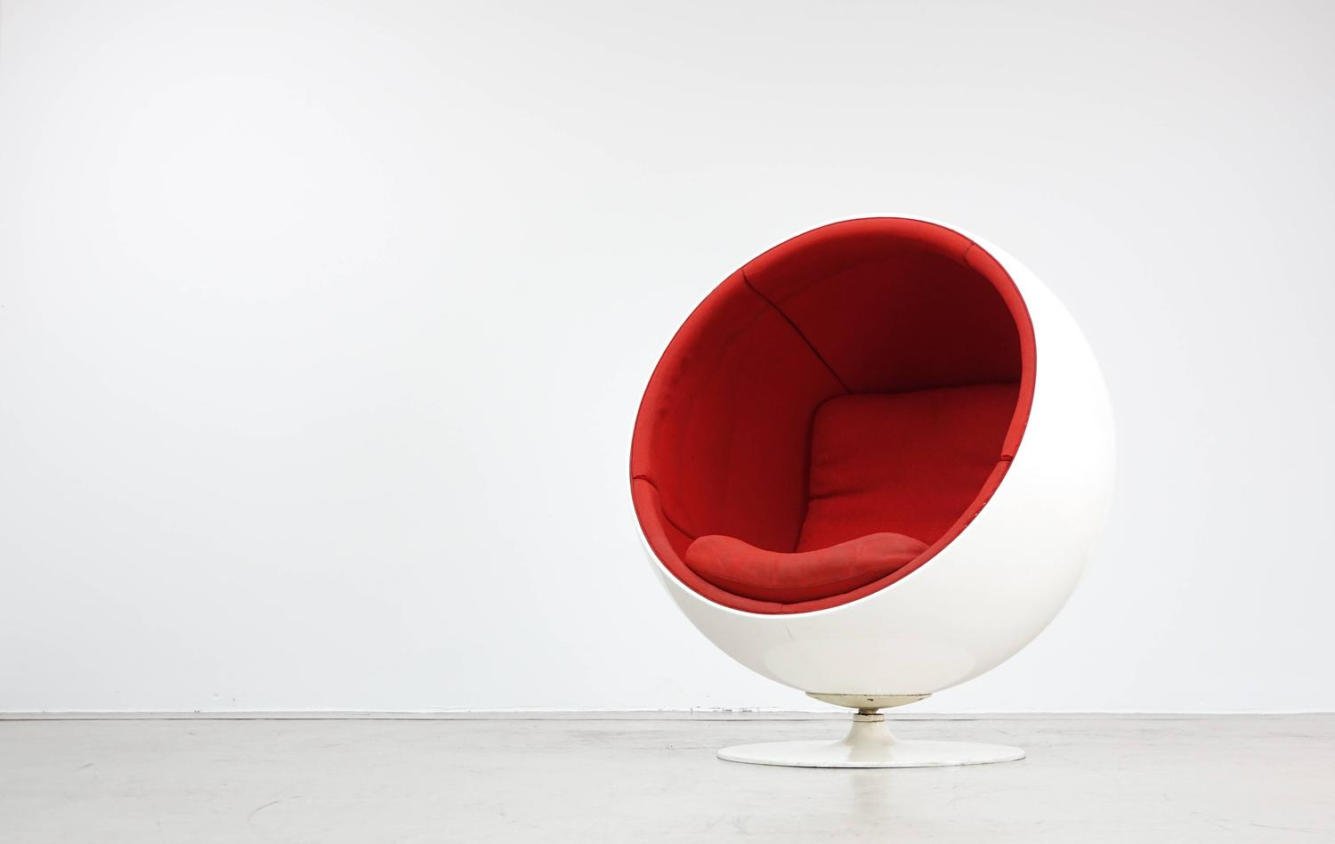 Ball chair by asko eero aarnio 1963 rare first edition at 1stdibs - Ball chair eero aarnio ...