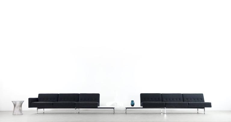Mid-Century Modern Modular System Seating Suite Sofa by George Nelson for Herman Miller Perfect For Sale