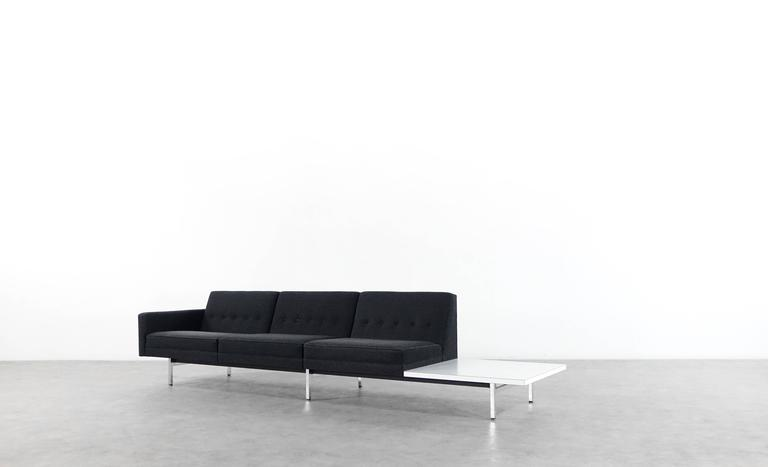 Mid-20th Century Modular System Seating Suite Sofa by George Nelson for Herman Miller Perfect For Sale