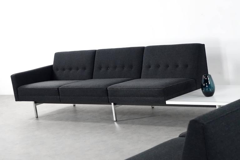 Modular System Seating Suite Sofa by George Nelson for Herman Miller Perfect For Sale 1