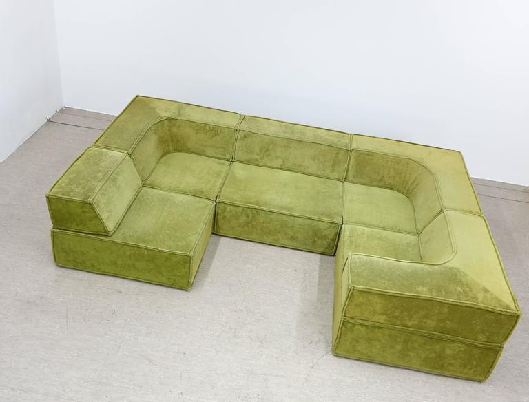cor modular seating system sofa 1972 by team form ag swiss at 1stdibs. Black Bedroom Furniture Sets. Home Design Ideas