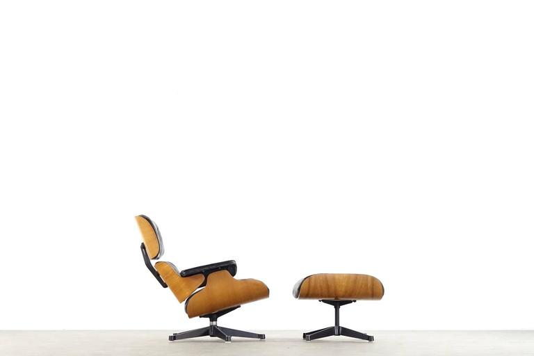 Very Early Charles & Ray Eames Lounge Chair from Contura 1957-1965 2