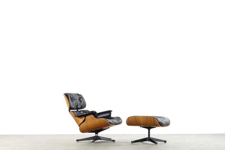 Very Early Charles & Ray Eames Lounge Chair from Contura 1957-1965 3