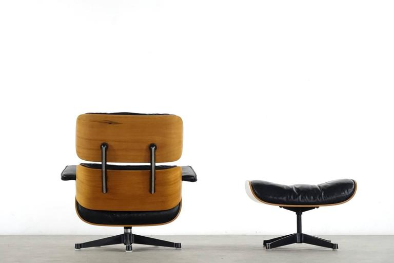 Very Early Charles & Ray Eames Lounge Chair from Contura 1957-1965 4