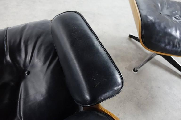 Very Early Charles & Ray Eames Lounge Chair from Contura 1957-1965 8