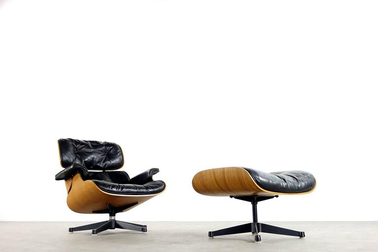 Very Early Charles & Ray Eames Lounge Chair from Contura 1957-1965 5