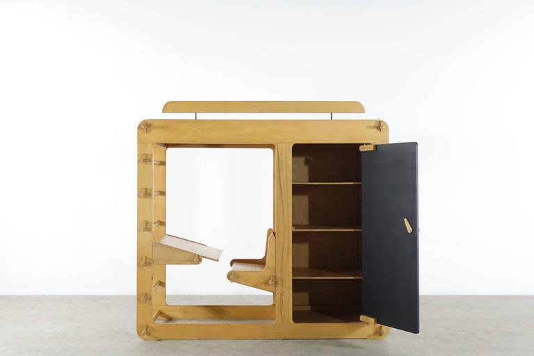 Mid-Century Modern Prototype Luigi Colani Rappelkiste from Elbro 1st Edition Private Collection