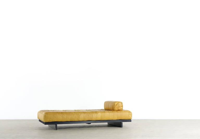 De Sede DS80 Daybed and Sofa in Cognac Aniline Leather, 1969 2
