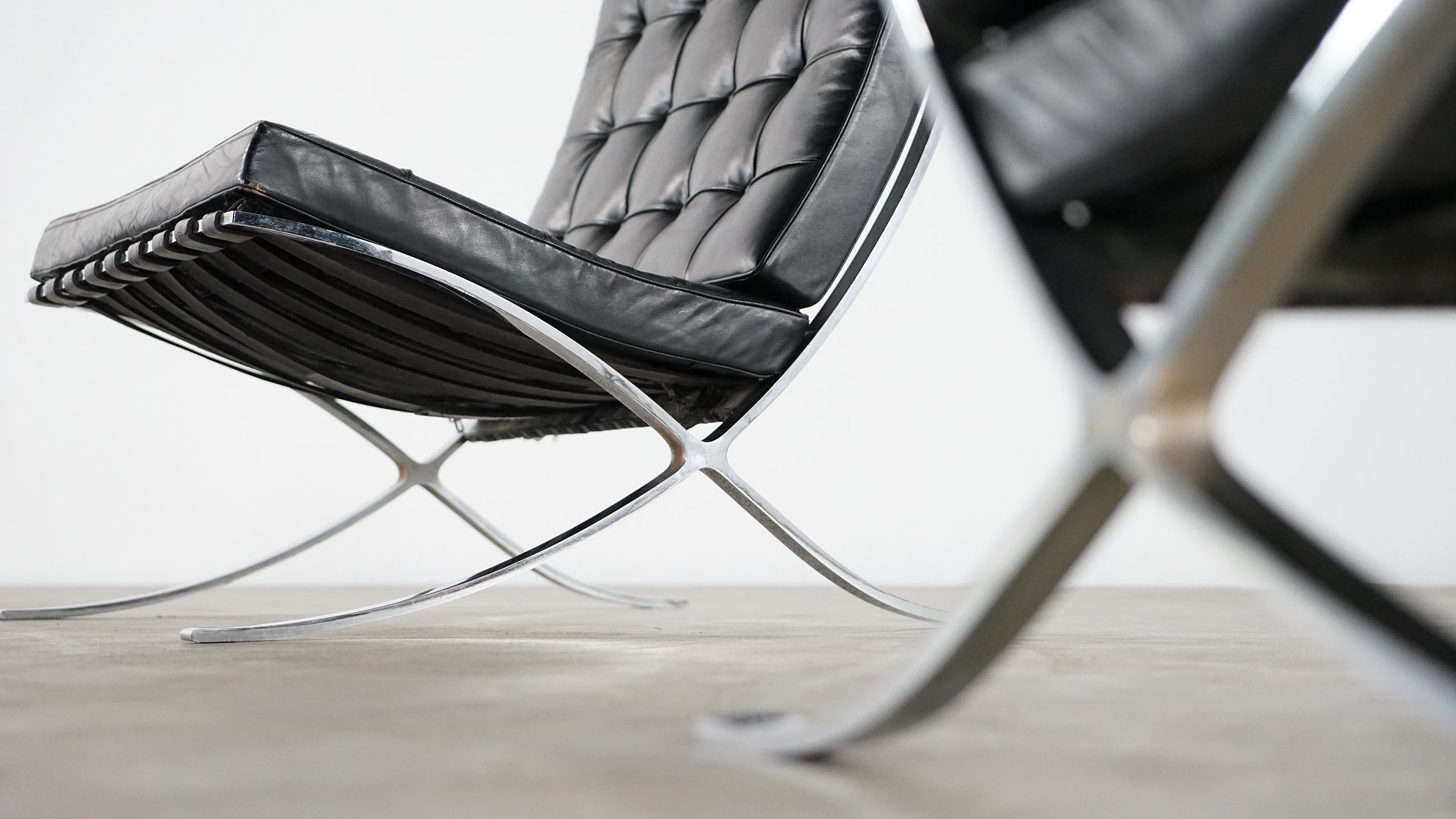 Mies Van Der Rohe Barcelona Chair By Knoll International Edition