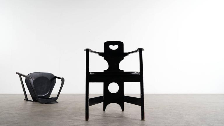 Two Rare Richard Riemerschmid Armchair, Germany, 1900 Jugendstil Modernism 7