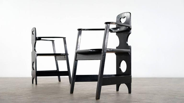 Two Rare Richard Riemerschmid Armchair, Germany, 1900 Jugendstil Modernism In Excellent Condition For Sale In Munster, NRW